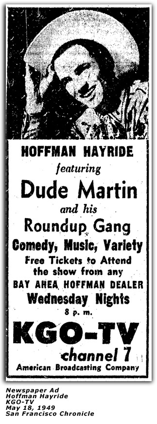 Hoffman Hayride Ad - May 18 1949