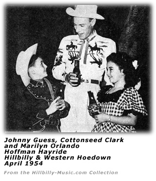 Dude Martin with Johnny Guess and Marilyn Orlando