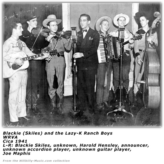 Blackie Skiles and Lazy-K Ranch Boys 1941