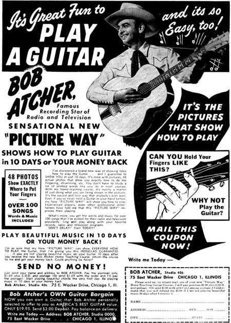 Bob Atcher Guitar Course