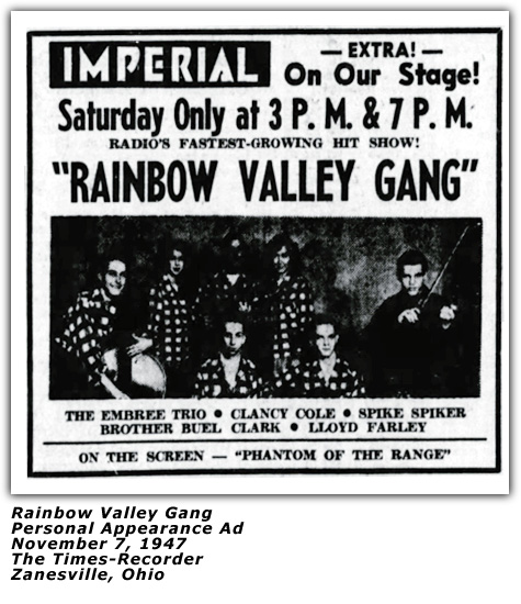 Rainbow Valley Gang - November 11 1946