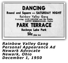 Rainbow Valley Gang - Park Terrace - December 1950