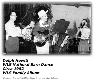 Dolph Hewitt - WLS National Barn Dance