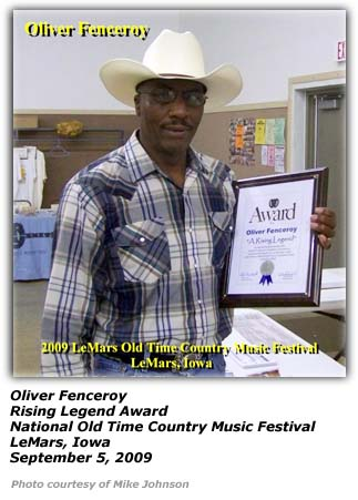 Oliver Fenceroy - Rising Legend Award 2009