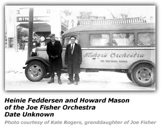 Joe Fisher and Howard Mason