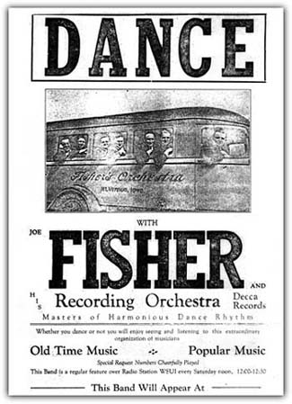 Joe Fisher Personal Appearance Ad