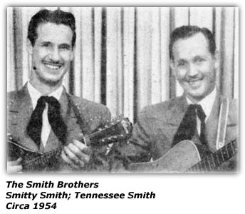 Smith Brothers, Smitty and Tennessee
