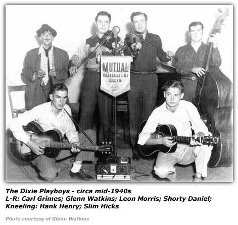 Dixie Playboys circa mid 1940s
