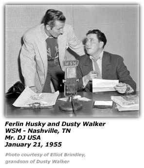 Dusty Walker, Ferlin Husky