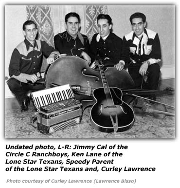 Curley Lawrence and the Happy Roving Cowboys