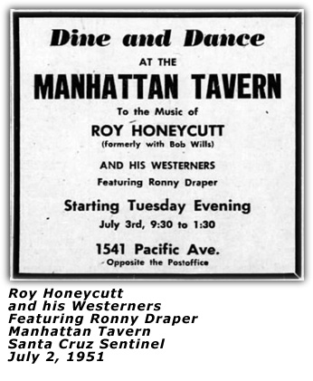 Roy Honeycutt - Santa Cruz 1951