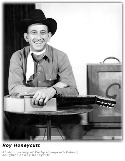 Roy Honeycutt - Steel Guitar
