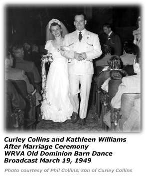Mr and Mrs Curley Collins