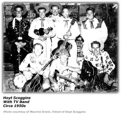 Hoyt Scoggins - TV Show Band - 1950s
