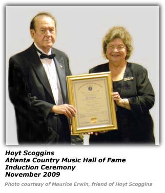 Hoyt Scoggins - Atlanta CMHOF Ceremony 2009