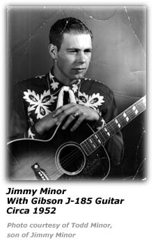 Jimmy Minor and his Gibson Guitar - Age 21