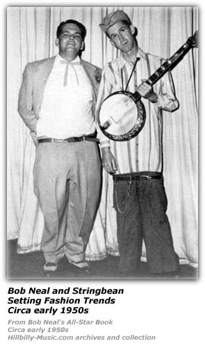 Bob Neal and Stringbean