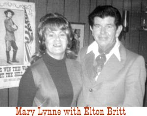 Mary Lynne with Elton Britt