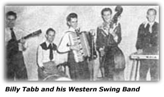 Billy Tabb and his Western Swing Band