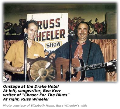 Songwriter Ben Kerr and Russ Wheeler