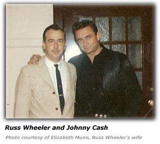 Russ Wheeler and Johnny Cash