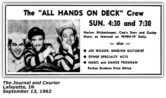 All Hands On Deck TV Show 1962