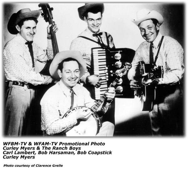 Curley Myers and the Ranch Boys - WFBM-TV and WFAM-TV