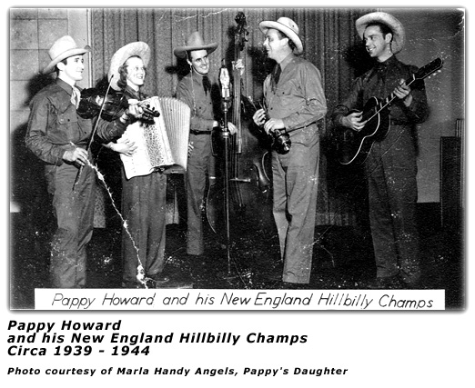 Pappy Howard and his New England Hillbilly Champs