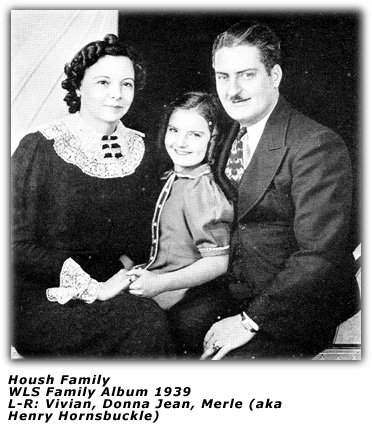 Merle Housh Family - 1938