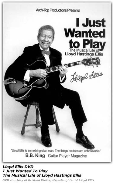 Lloyd Ellis DVD