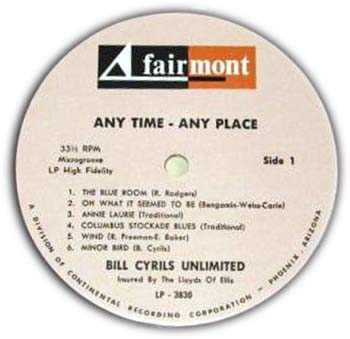 Lloyd Ellis - Bill Cyrils