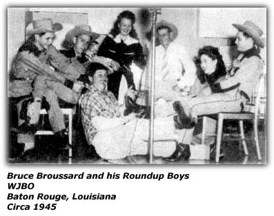 Bruce Broussard and his Roundup Boys