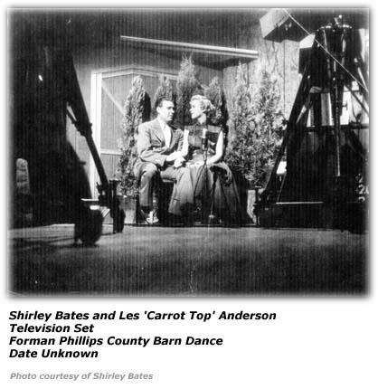 Shirley Bates and Les 'Carrot Top' Anderson