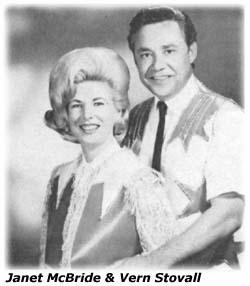 Janet McBride and Vern Stovall