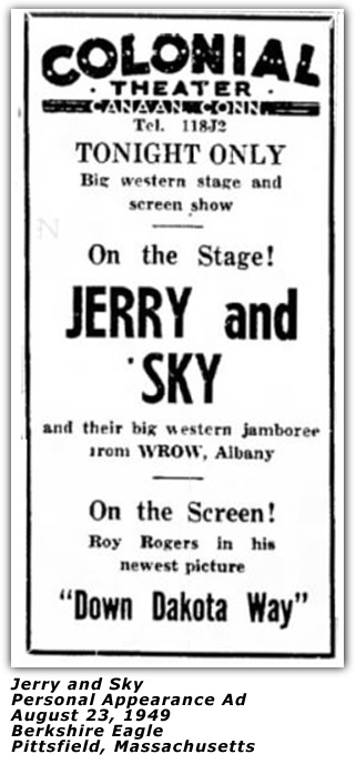 Jerry and Sky - 1949