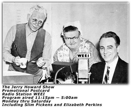Jerry Howard Show Promo Pic
