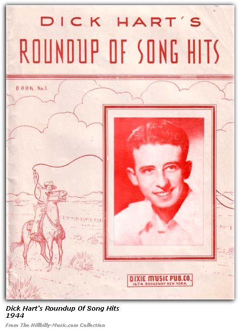 Dick Hart Roundup of Song Hits 1944