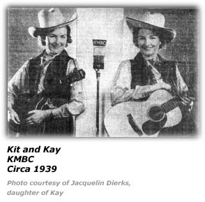 Kit and Kay, KMBC Circa 1939