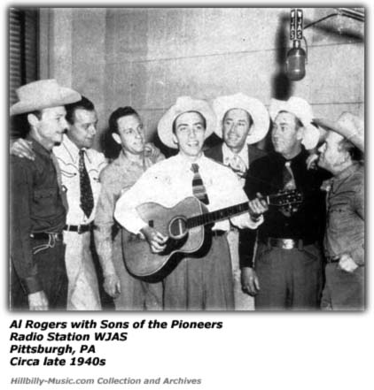 Al Rogers and Sons of Pioneers