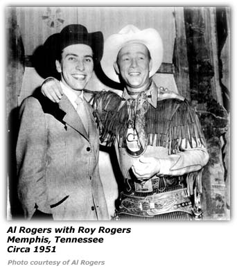 Al Rogers and Roy Rogers