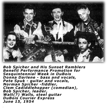 Bob Spicher Sunset Ramblers 1954
