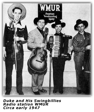 Duke and his Swingbillies - WMUR