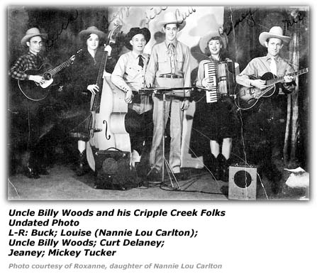 Uncle Billy Woods and His Cripple Creek Folks - Undated Photo 2