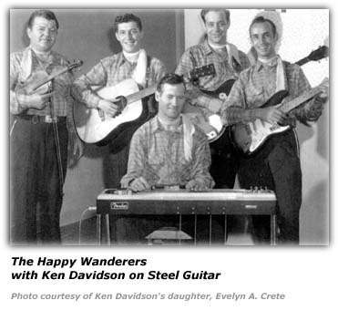 Ken Davidson - with Happy Wanderers