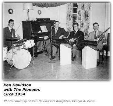 Ken Davidson - with The Pioneers