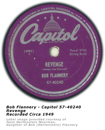 Bob Flannery - Capitol 40240