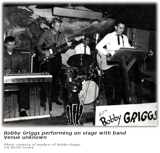 Bobby Griggs with Band