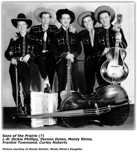 Four Sons of the Prairie - KMOX - late 1930s
