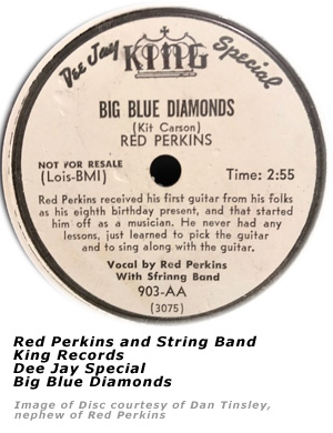 Red Perkins - Big Blue Diamonds