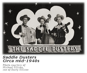 Saddle Dusters - Promo Card